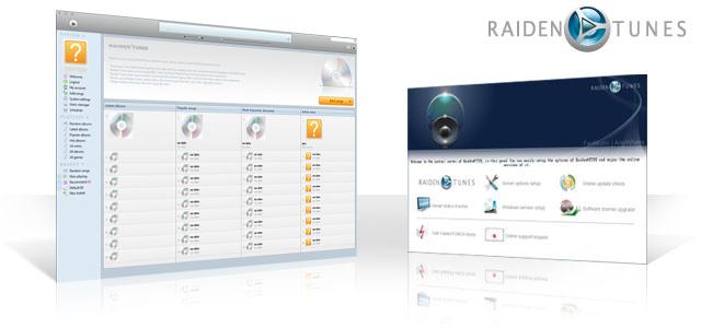 Windows 7 RaidenTunes network music station 2.1.7 full